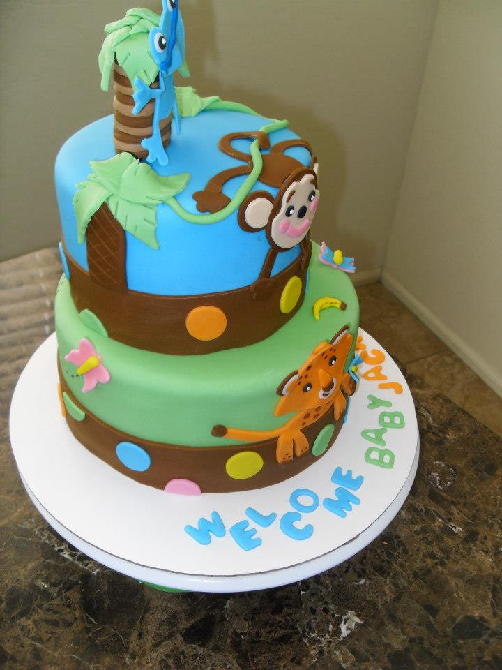 Baby Shower Cake Animal 3